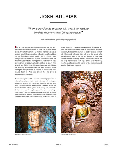 Buddha Project Josh Bulriss Article